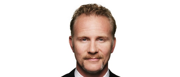 Morgan Spurlock at Toys R Us booth sdcc 2012