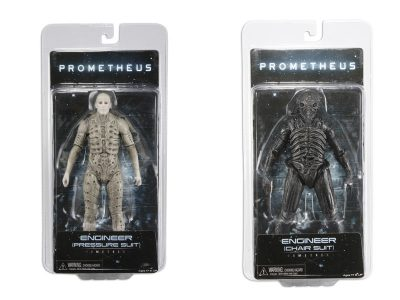 Prometheus Action Figures in packaging - series 1
