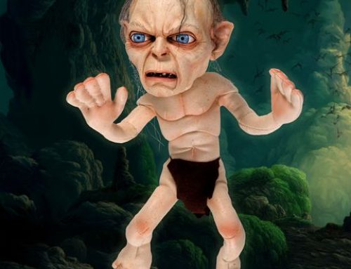 Lord of the Rings – Poseable Plush – Gollum (No Sound) – DISCONTINUED
