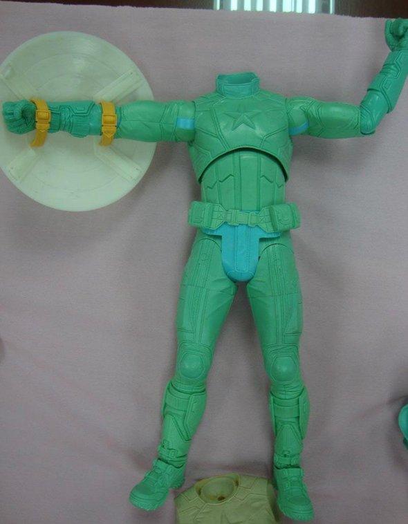 Captain America 1/4 Scale Action Figure NECA