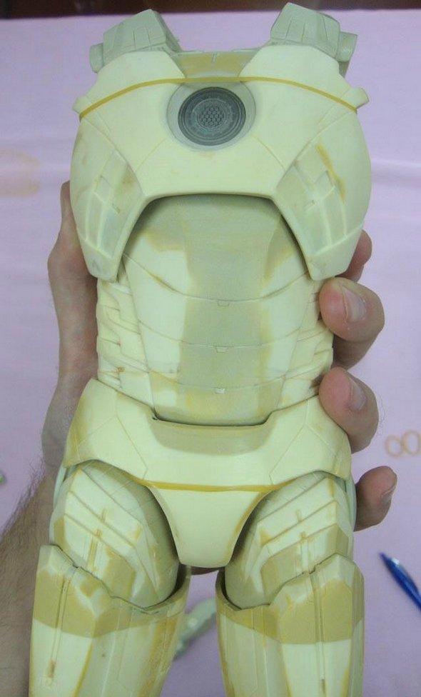 NECA 1/4 Scale Iron Man Action Figure 2013