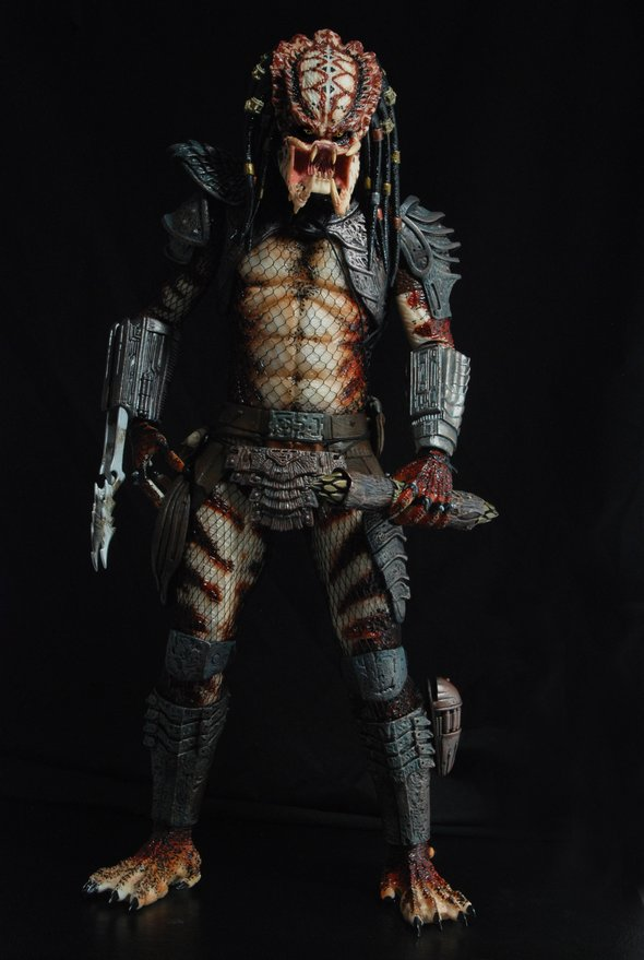 NECA Unmasked City Hunter Predator 1/4 Scale Action Figure