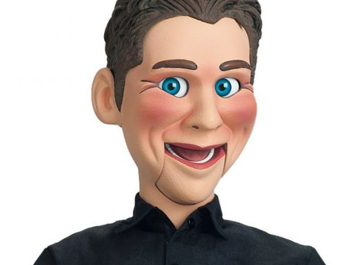 "Jeff Dunham – Working Ventriloquist Dummy ""Jeff Dunham"" w/ DVD & Booklet ***DISCONTINUED***"