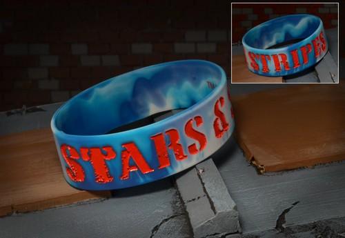 12067_StarsStripes_Rubber_Bracelet