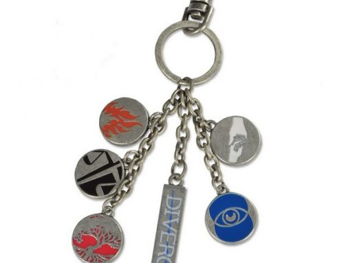 Divergent – Faction Symbols Bag Clip ***DISCONTINUED***
