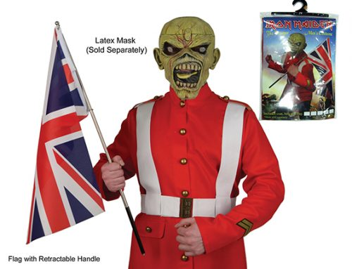 "DISCONTINUED: Iron Maiden – Halloween Costume – ""Trooper"" Assortment"