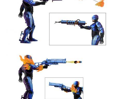 Robocop Vs The Terminator (1993 Video Game) – 7″ Action Figure – Series 2 Robocop Assortment
