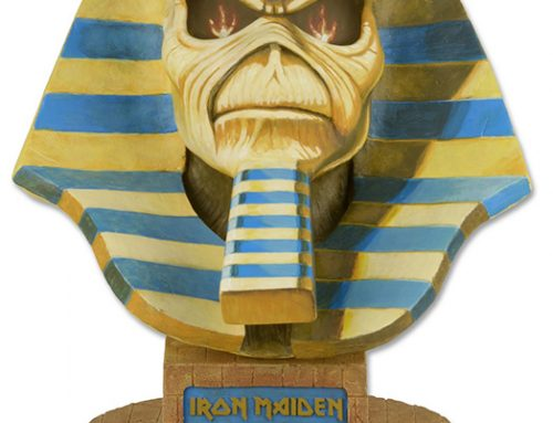 DISCONTINUED – Iron Maiden – Life-Size Bust – Powerslave Limited Edition