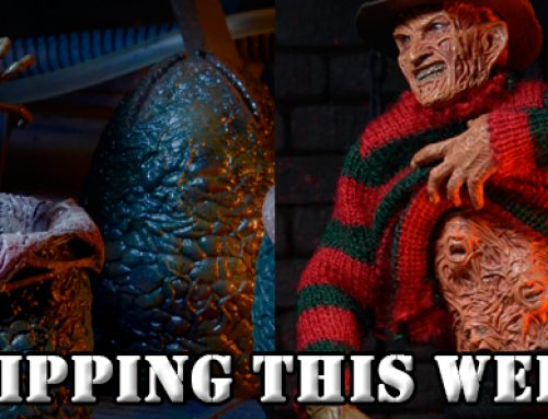 Shipping this Week: Alien Egg Carton and Dream Warriors Freddy 8″ Clothed Action Figure!