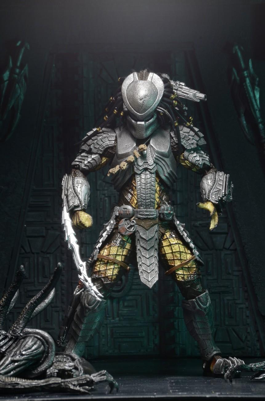 "NECA Masked Scar Predator Alien vs Predator AVP 7/"" Action Figure Series 15 New"