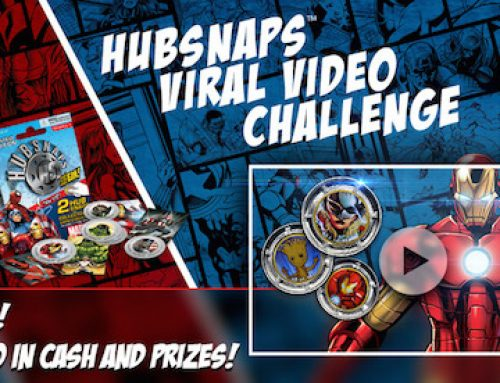 Enter the MARVEL HUBSNAPS VIRAL VIDEO CHALLENGE – Over $11,000 in Cash and Prizes!