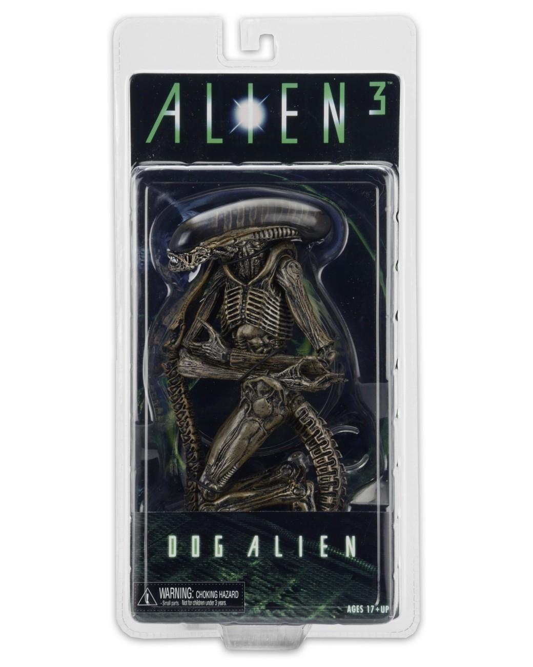 Aliens Series 8 Action Figure Dog Alien Brown