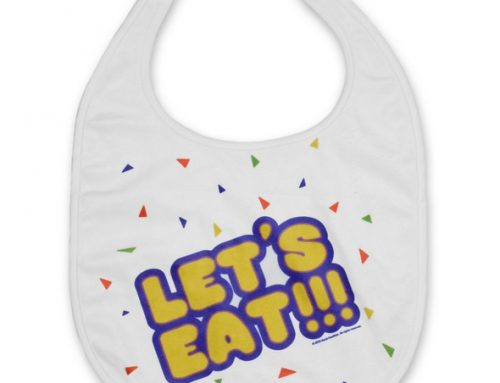 DISCONTINUED: Five Nights at Freddy's – Wearable Prop Replica – Chica's Bib