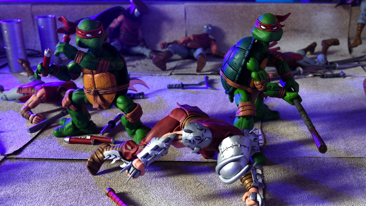 Teenage mutant ninja turtles concept art is what bay's picture should've been
