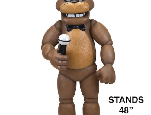 DISCONTINUED: Five Nights at Freddy's – Large-Scale Foam Figure – Freddy Fazbear