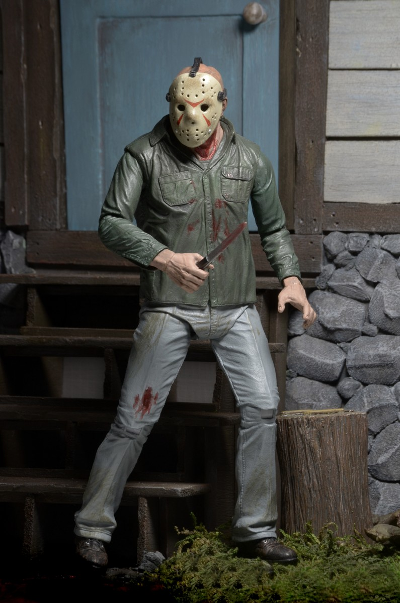 "Nuovo in Scatola Friday The 13th PART 3 3D Ultimate Jason Voorhees 7/"" Figura NECA"