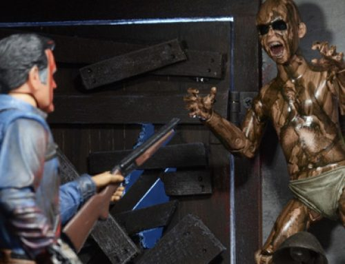 Closer Look: Ash vs Evil Dead Bloody Ash vs Demon Spawn 3-Pack!