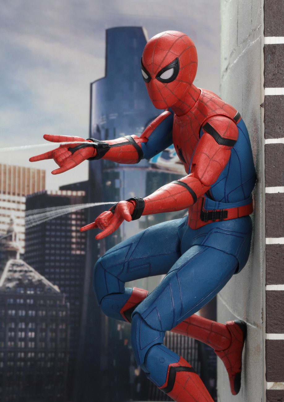 spider-man: homecoming – 1/4 scale action figure – spider-man