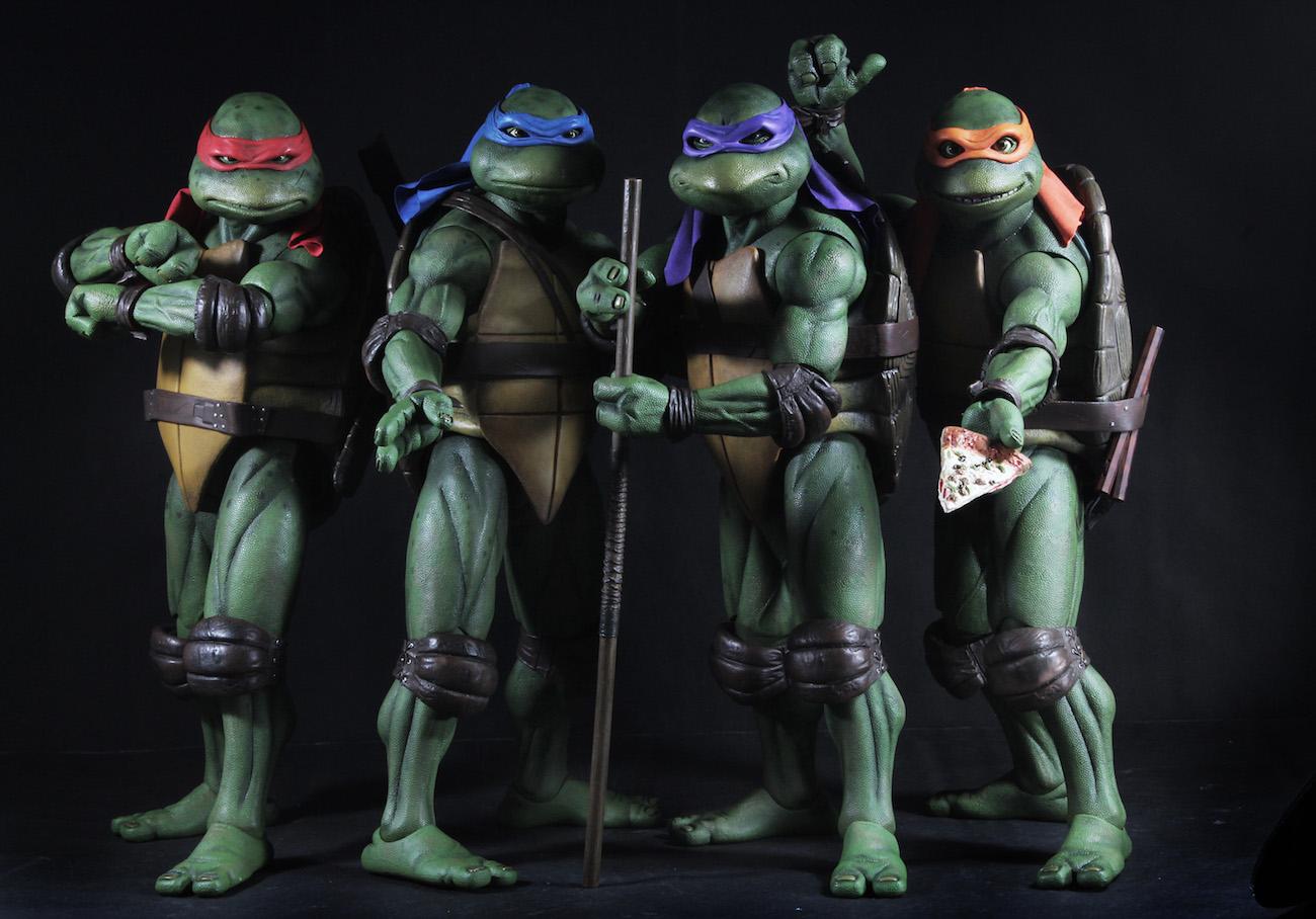 Teenage Mutant Ninja Turtles 1990 Movie 1 4 Scale Action
