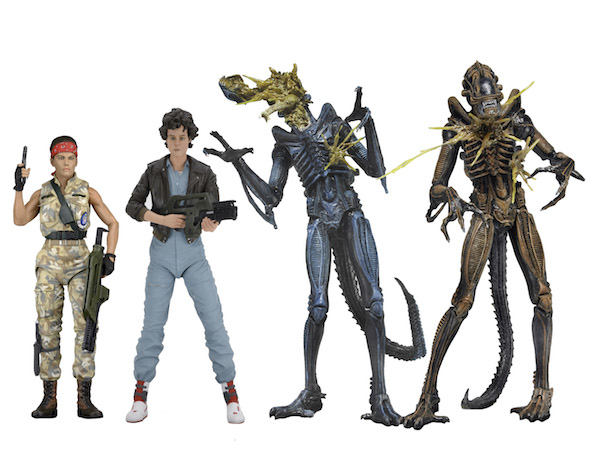"""NECA Limited Edition - Series 5 7/"""" Scale Figures Details about  /Aliens 3 Versions"""