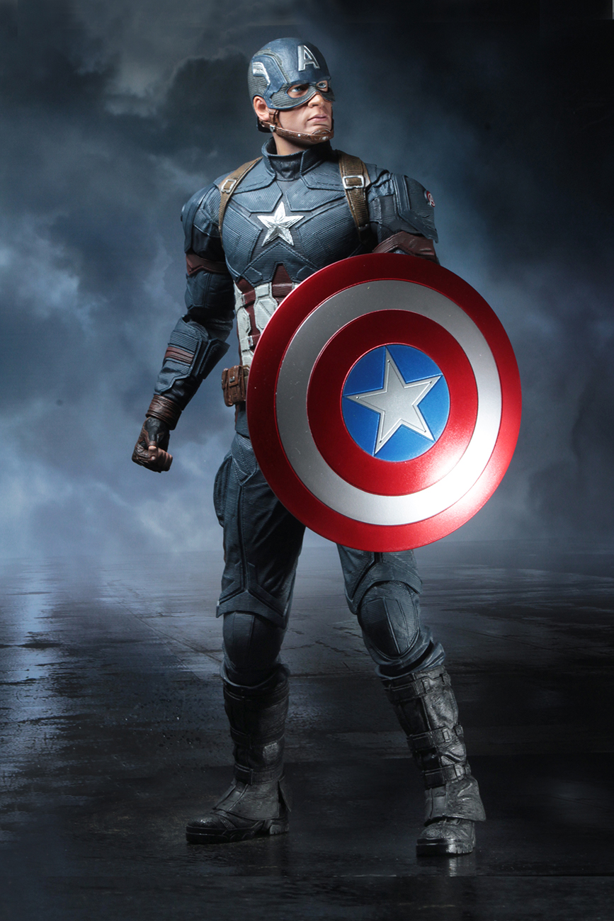 Shipping This Week – Captain America: Civil War 1/4 Scale ...