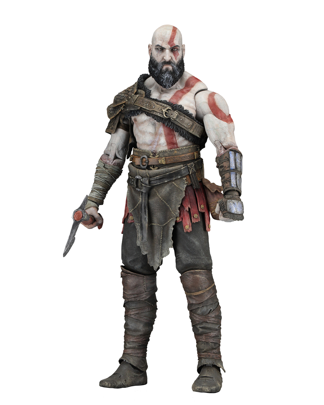 God Of War 2018 7 Scale Action Figure Kratos Necaonline Com
