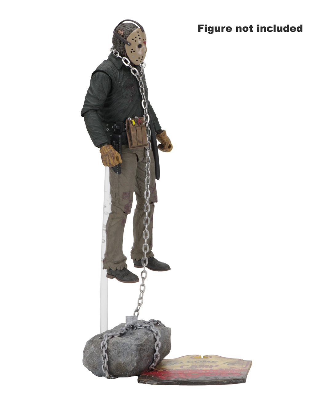 NECA-Friday the 13TH Pack d/'accessoires NEUF Camp Crystal Lake Set