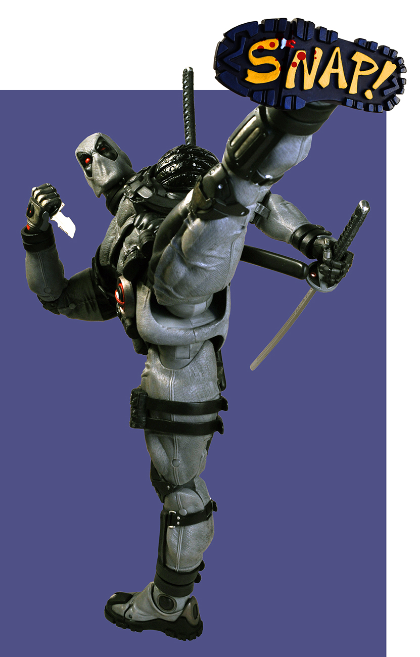Shipping This Week – 1/4 Scale X-Force Deadpool!