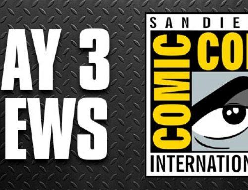 SDCC 2018 Day 3: Jet Pack Crash Bandicoot, God of War 2 Pack, and Teenage Mutant Ninja Turtles Quarter Scale Foot Soldier!