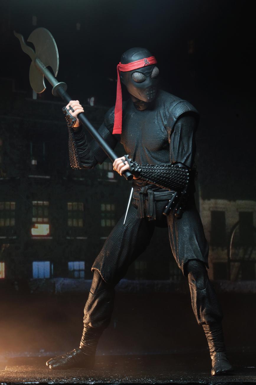 Teenage Mutant Ninja Turtles 1990 1 4 Scale Action Figure Foot Clan Soldier Necaonline Com
