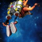 Crash Bandicoot – 7″ Scale Action Figure – Deluxe Crash with Jet Pack | NECAOnline.com