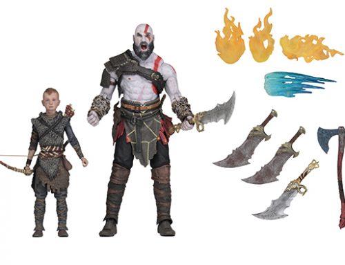 God of War (2018) – 7″ Scale Action Figure – Ultimate Kratos & Atreus 2-Pack