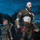 God of War (2018) – 7″ Scale Action Figure – Ultimate Kratos & Atreus 2-Pack | NECAOnline.com