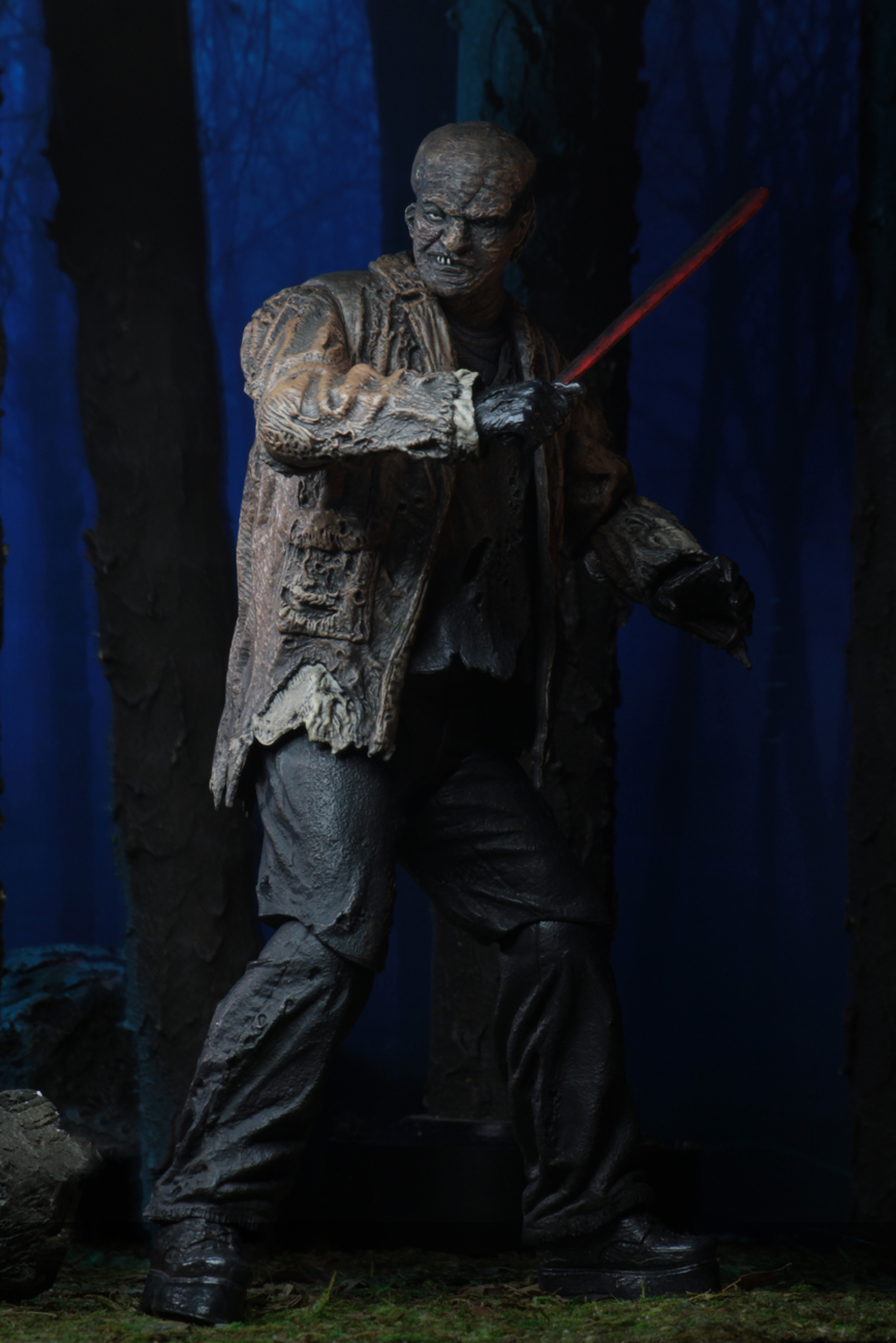 Freddy Vs Jason 7 Scale Action Figure Ultimate Jason