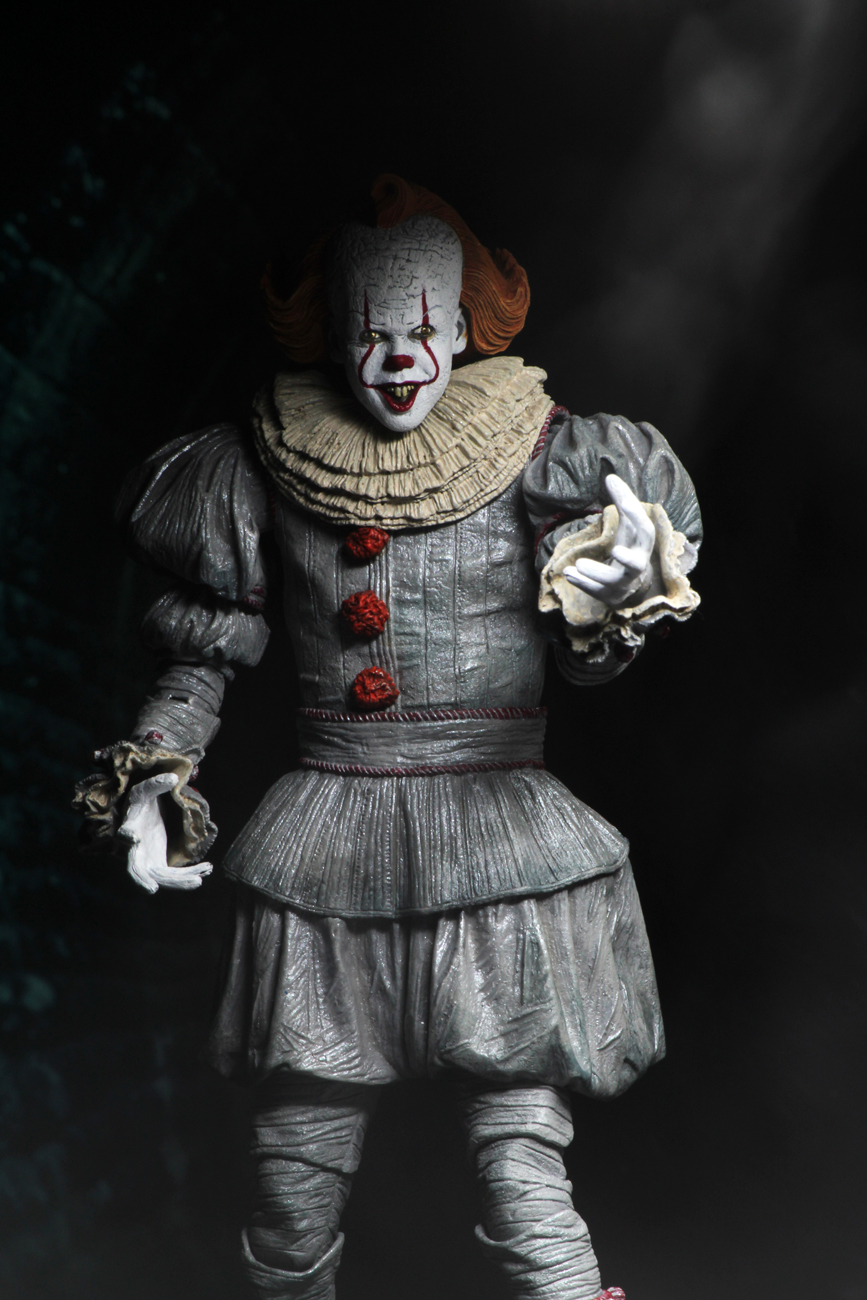 """Ultimate Pennywise 7/"""" Action Figure Neca-chapitre 2"""