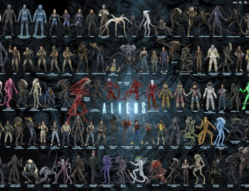 5 Days of Downloads 2019 – Day 3: Aliens Action Figure Visual Guide