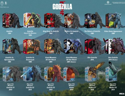 5 Days of Downloads 2019 – Bonus: Godzilla Action Figure Visual Guide