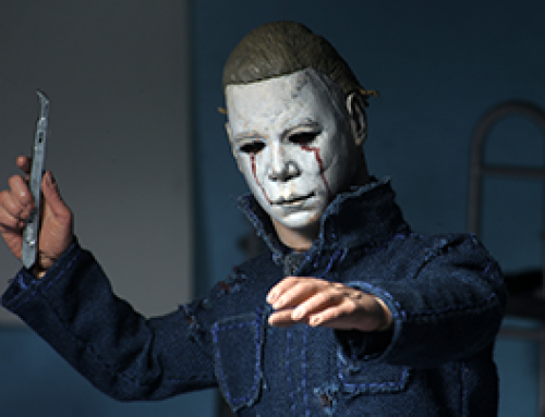 "Halloween 2 (1981) – 8"" Clothed Action Figure – Michael Myers"