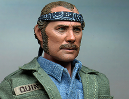 "Jaws – 8"" Clothed Action Figure – Quint"