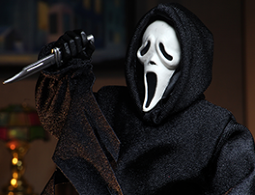 "Ghost Face – 8"" Clothed Action Figure – Ghost Face (updated)"