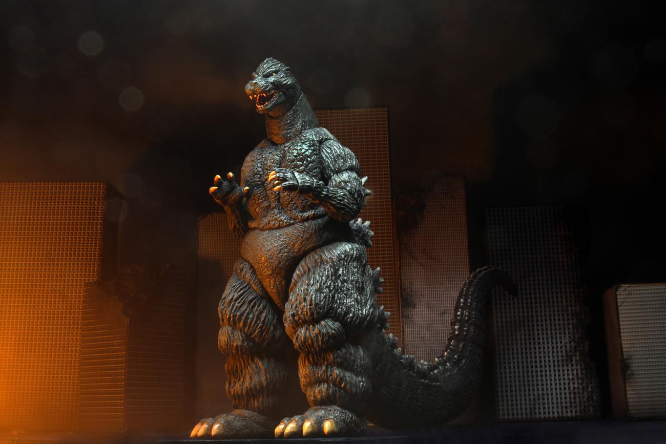 "1989 Classic 12/"" Head to Tail Action Figure-NEC42898-NECA Godzilla"
