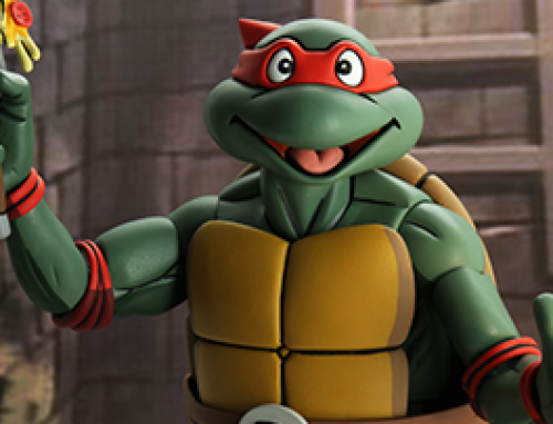 Teenage Mutant Ninja Turtles (Cartoon) – ¼ Scale Action Figure – Super Size Raphael
