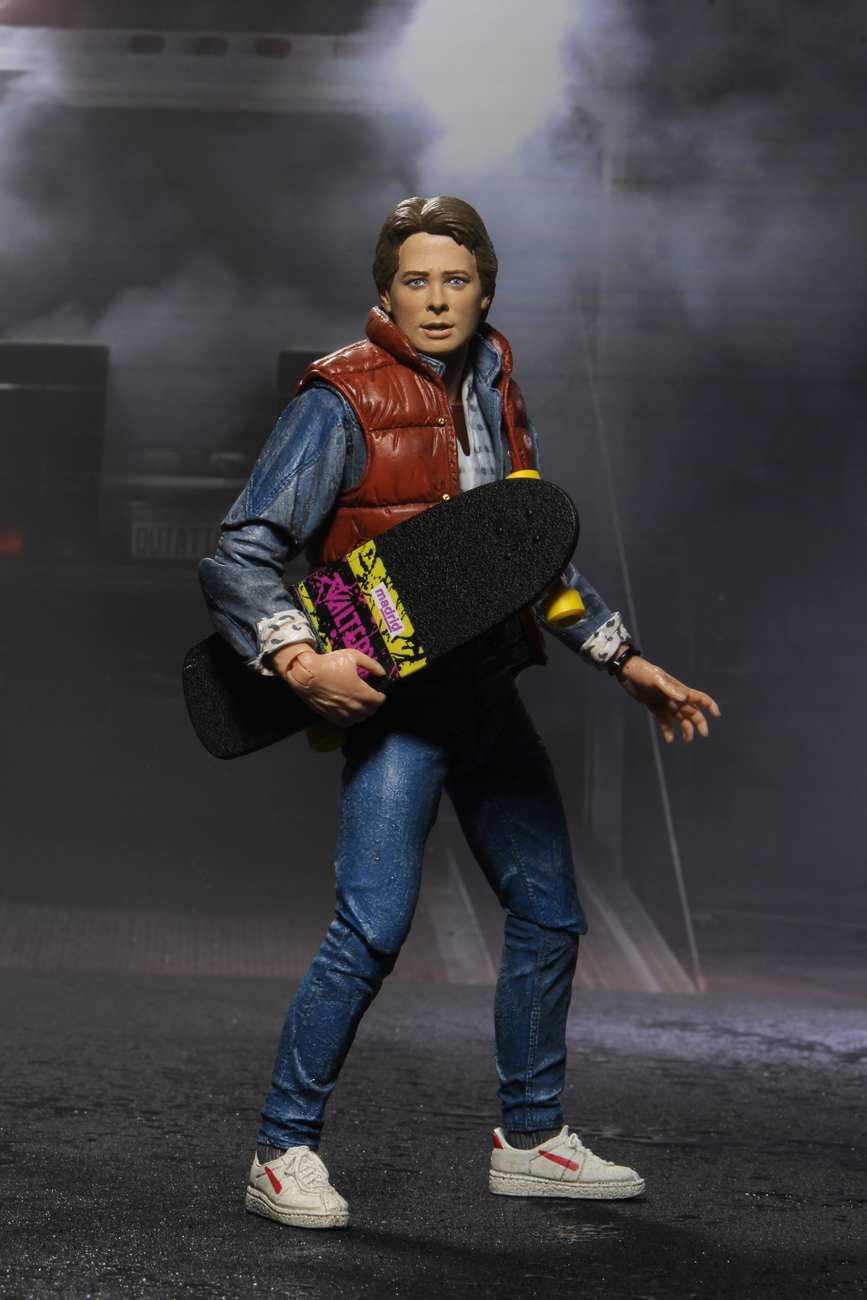 "7/"" NECA Back to the Future Ultimate Marty Mcfly Action Figure Michael J Fox GIFT"