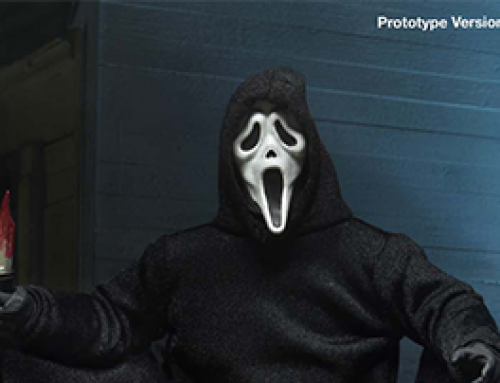 Ghost Face – 7″ Scale Action Figure – Ultimate Ghost Face