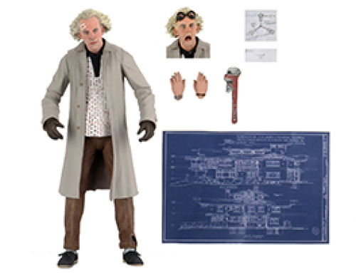 Back To The Future – 7″ Scale Action Figure – Ultimate Doc Brown