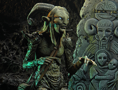 """GDT Signature Collection – 7"""" Scale Action Figure – Old Faun (Pan's Labyrinth)"""