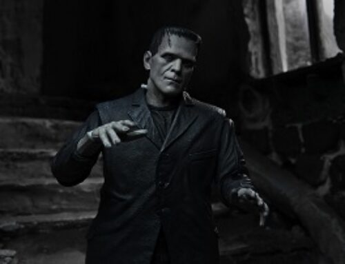 "Universal Monsters – 7"" Scale Action Figure – Ultimate Frankenstein's Monster (B&W)"