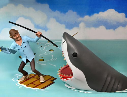 Toony Terrors – 6″ Scale Action Figures – Quint and Shark 2-Pack (Jaws)