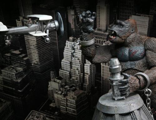 "King Kong – 7"" Scale Action Figure – Ultimate King Kong (Concrete Jungle)"