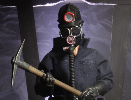 """My Bloody Valentine – 8"""" Clothed Action Figure – The Miner"""